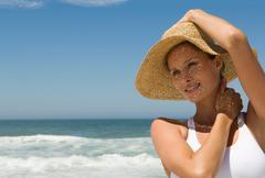 Female health beauty - stock photo