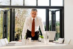 Man at work - stock photo
