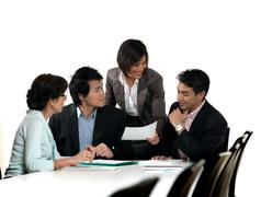 Business meeting Kuvituskuvat
