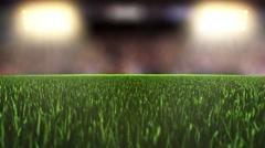 Sports Stadium Background slide sideways Stock Footage