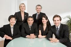 Portrait of a business meeting Kuvituskuvat