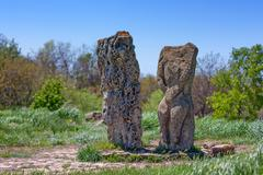 Pagan idols - stock photo
