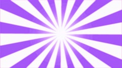 Rotating Stripes Background Animation - Loop Violet Stock Footage