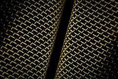 microphone mesh - stock photo