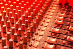 soundboard - stock photo