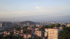 Aerial Santa Teresa Rio de Janeiro city Stock Footage