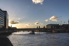 Sunset on the London Bridge Kuvituskuvat