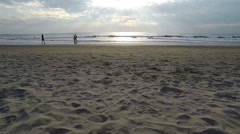 Arambol beach, Goa - stock footage