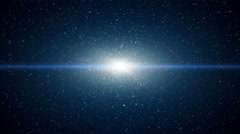 Dust particle explosion, Light ray effect. UHD 4k Stock Footage
