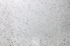 Raindrops on the glass Stock Photos