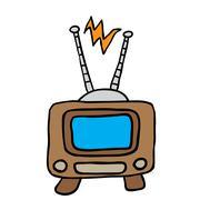 Retro tv 1 Stock Illustration