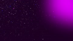 Violet Particles Background Abstract Stock Footage