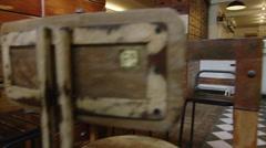 Portrait of Barista in trendy coffee shop Stock Footage