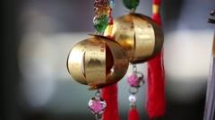 Miniature chinese lanterns, Lantern Festival Stock Footage