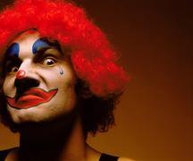 Sinister looking clown Kuvituskuvat