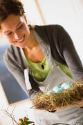 Easter arrangements Stock Photos