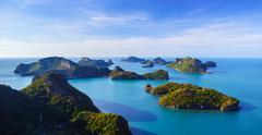 Angthong national marine park, koh Samui, Thailand Stock Photos