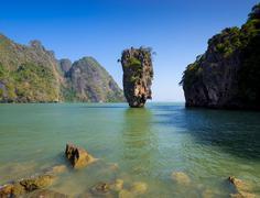 Khao Tapu or James Bond Island, Phang Nga Bay, Thailand Kuvituskuvat