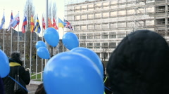 Celebrating the first European Day on the Protection of Children against Sexual Stock Footage