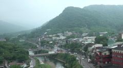 Pingxi town in Taiwan Stock Footage