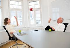 Businesspeople relaxing on a break Kuvituskuvat