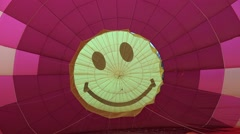 Interior of a hot air balloon, 4K Stock Footage