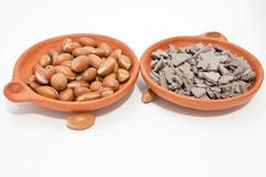 Argan  and clay Stock Photos