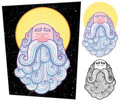 Saint Stock Illustration