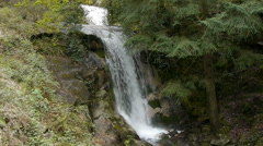 Waterfall in Portugal - Parque Nacional Peneda Geres. Stock Footage