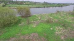 Wisla River, Poland Stock Footage