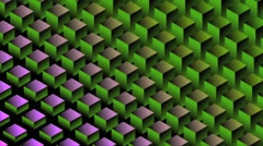 Digital Wave HD Motion Background Vj Loop - stock footage