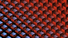 Square Wave HD Motion Background Vj Loop - stock footage