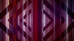 Square pattern motion_abstract_background_LOOP red Stock Footage