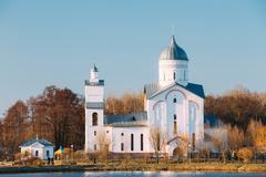 St. Alexander Nevsky Church in Gomel, Belarus. Orthodox Church Stock Photos