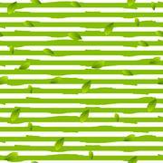 Grunge stripes and summer leaves vector background Stock Illustration
