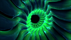 Sticky Tunnel VJ Loop Stock Footage