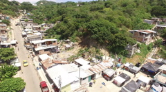 Earthquake Damaged Houses in Bahia de Caraquez Stock Footage