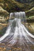 Below Porter Cave Falls Stock Photos