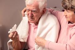 I'll help you in sickness - stock photo