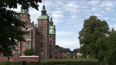 Rosenborg Castle, Copenhagen Stock Footage