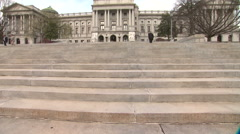 Pennsylvania State Capital In Harrisburg Stock Footage