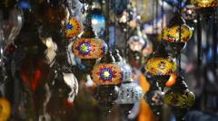 souvenirs, souvenir shop - stock footage