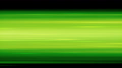 Green Fast-Moving Horizontal Speed Lines Stock Footage