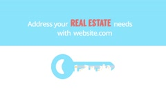 Real Estate - Kinetic Text Promo - stock after effects