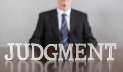 Judgement concept Stock Photos