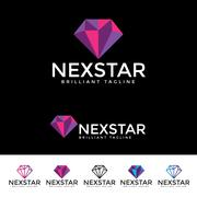 Next Star Logotype Stock Illustration