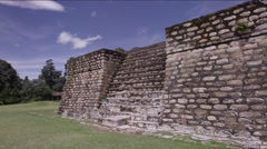 Stone structure at Tikal National Park, Guatemala Stock Footage