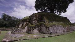 View of Tikal ruins, Guatemala - stock footage