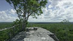 View of beautiful landscape, Guatemala - stock footage