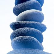 Close up of stacked rocks Stock Photos
